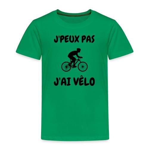 JPEUX pas Jai velo - T-shirt Premium Enfant