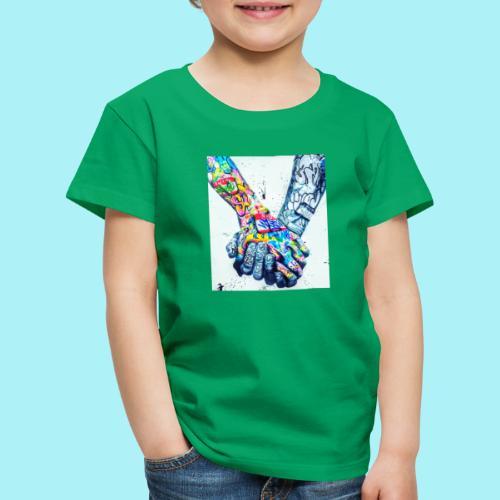 Main dans la main tatoués - T-shirt Premium Enfant