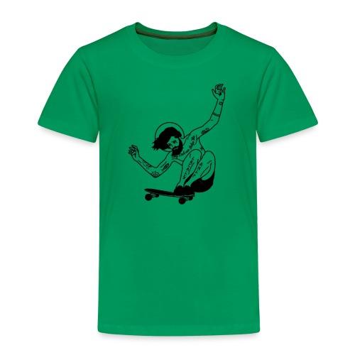 Gesu skater tutti i motivi - Maglietta Premium per bambini