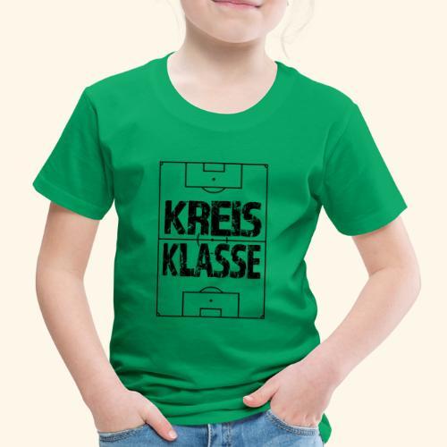 KREISKLASSE im Fußballfeld - Kinder Premium T-Shirt