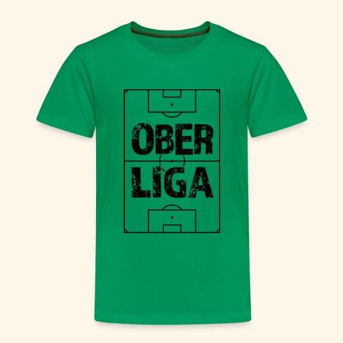 OBERLIGA im Fußballfeld - Kinder Premium T-Shirt