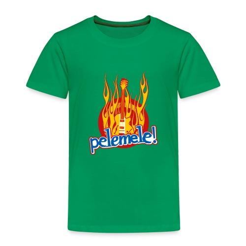 Pelemele! Flammenshirt - Kinder Premium T-Shirt
