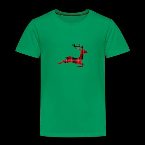 noël cerf écossais - T-shirt Premium Enfant