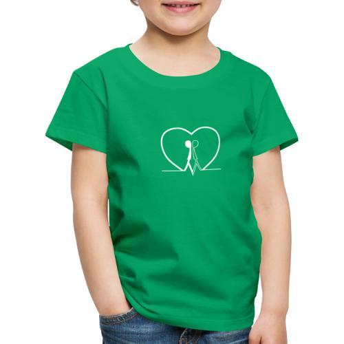Non aver paura dell'uguaglianza... Man man WHITE - Maglietta Premium per bambini