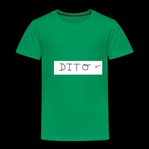 dito - Camiseta premium niño
