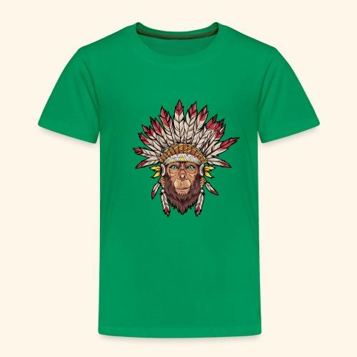 Tête de singe singes drôles - T-shirt Premium Enfant