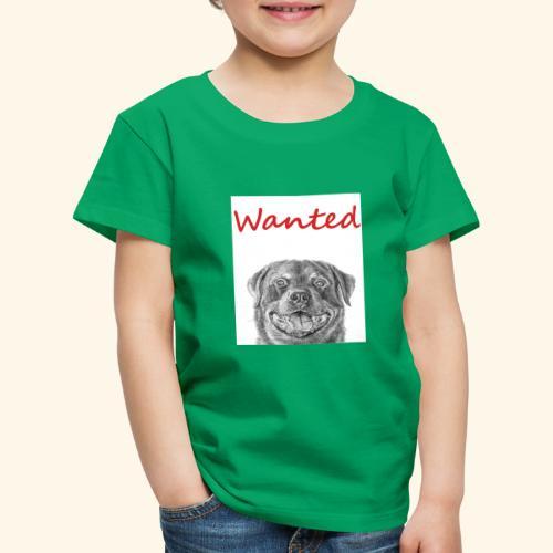 WANTED Rottweiler - Kids' Premium T-Shirt