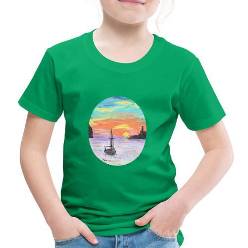 Port de Sollers Sonnenuntergang - Kinder Premium T-Shirt