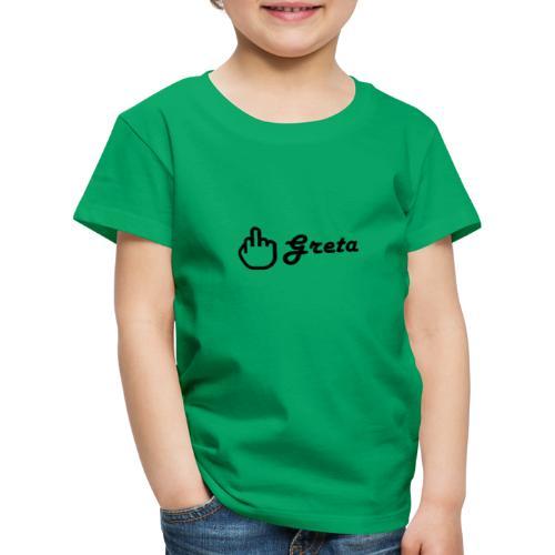 Jódete Greta - Camiseta premium niño