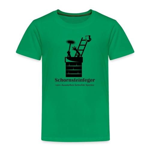 Schornsteinfeger im Kamin - Kinder Premium T-Shirt