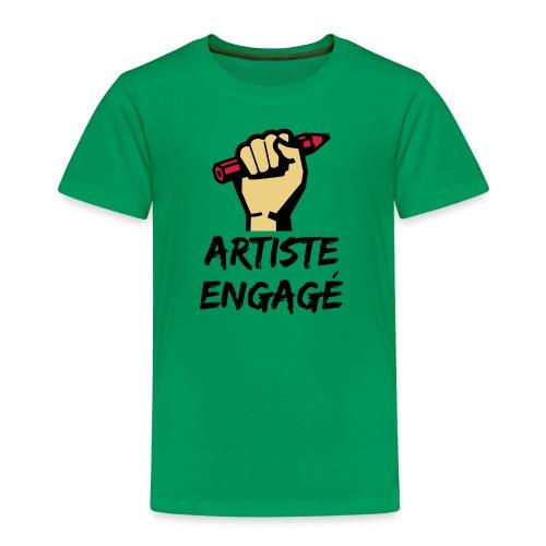 Artiste engagé - T-shirt Premium Enfant