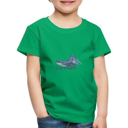 Zermatt Switzerland - Kinder Premium T-Shirt