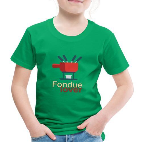 Fondue lover - Kinder Premium T-Shirt