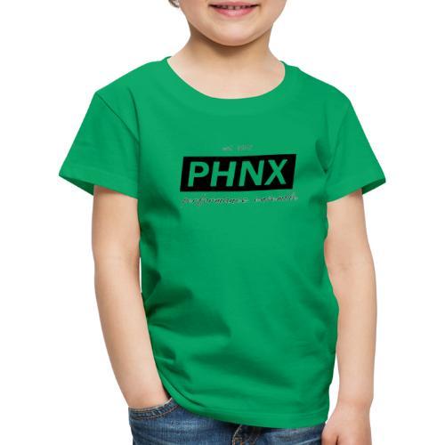 PHNX /#black/ - Kinder Premium T-Shirt