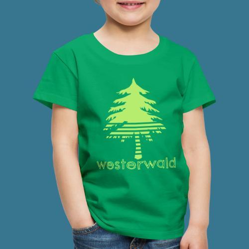 Bunt, Hip, Bodenständig- Westerwald kann! - Kinder Premium T-Shirt