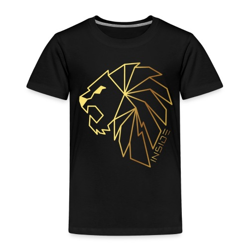 Löwe, Lion Inside - Kinder Premium T-Shirt