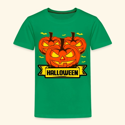 Kürbisköpfe für Halloween - super als Geschenk - Kinder Premium T-Shirt