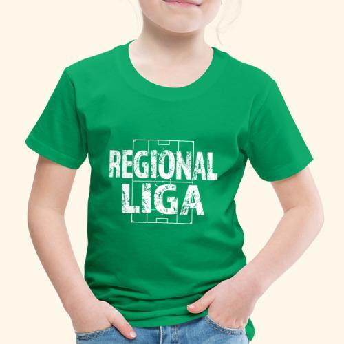 REGIONALLIGA im Fußballfeld - Kinder Premium T-Shirt