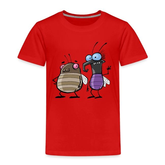 Teenager Premium Langarmshirt Insekten