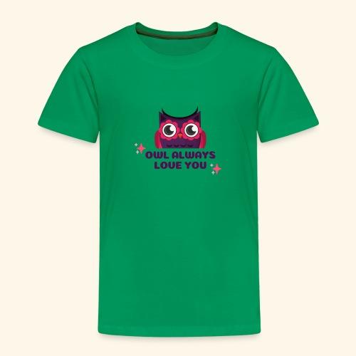 Eulen Design - Kinder Premium T-Shirt