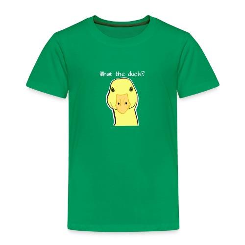 Duck you - Lasten premium t-paita