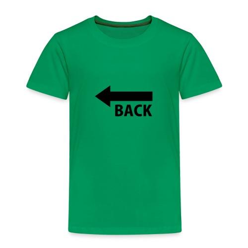 BACK - Camiseta premium niño