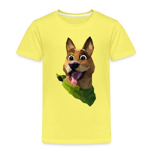 LOW POLY DOGO - T-shirt Premium Enfant