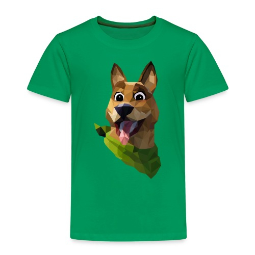 LOW POLY DOGO - T-shirt Premium Enfant