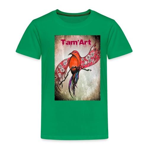 Tam'Art oiseau rouge - T-shirt Premium Enfant