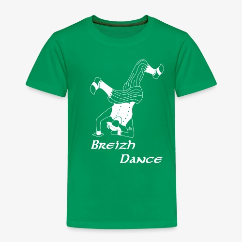 BZH Atypik Design - Breizh Dancer - T-shirt Premium Enfant