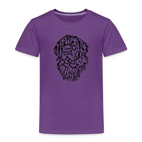 Neufundländer Kopf - Kinder Premium T-Shirt