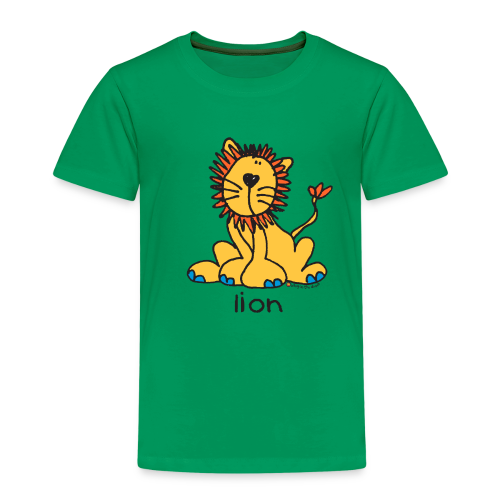lion bang on the door - Kids' Premium T-Shirt
