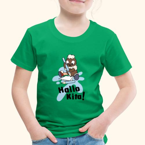 Pittiplatsch Hallo Kita! - Kinder Premium T-Shirt