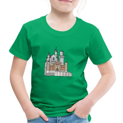 Schloss Neuschwanstein c - Kinder Premium T-Shirt