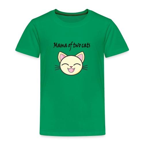 Katzen mama Katzenshirt - Kinder Premium T-Shirt