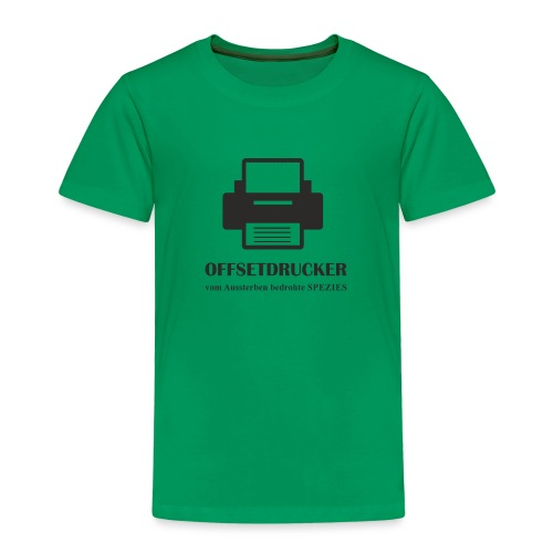 Beruf OFFSETDRUCKER - Kinder Premium T-Shirt