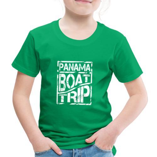 Panama Boat Trip - Kinder Premium T-Shirt