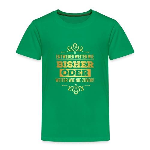 Business Geschäftsmann Geschäftsfrau - Power gold - Kinder Premium T-Shirt