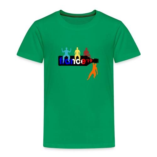 France Shirt Jungs Flasche vector bunt neu - Kinder Premium T-Shirt