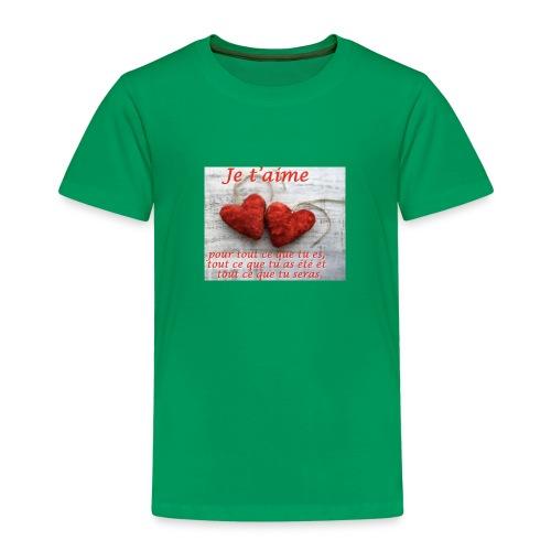 4F5A798D 89AE 4A18 A85F D5FF1D5FCD59 - T-shirt Premium Enfant