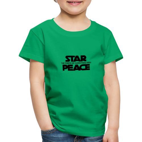 STAR PEACE - Maglietta Premium per bambini