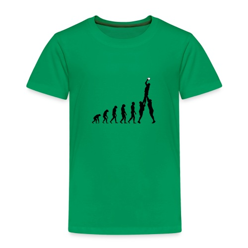 Evolution Rugby - Line-Out - Kids' Premium T-Shirt