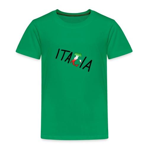 Italia T-Shirt Herren: Schriftzug - Kinder Premium T-Shirt