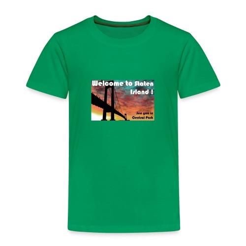 welcome to staten island - T-shirt Premium Enfant