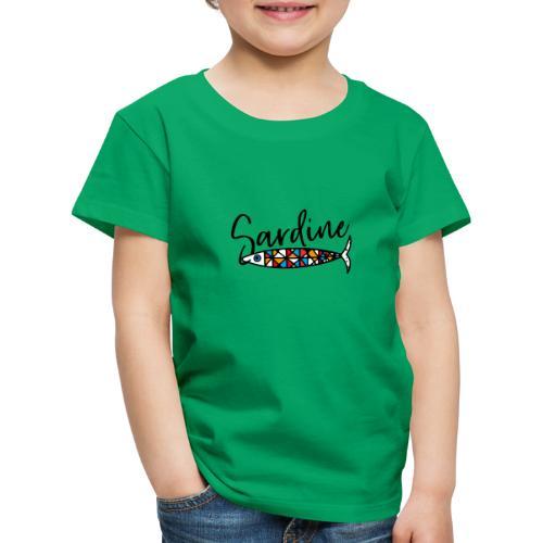 Sardine colorate all'amo - Maglietta Premium per bambini