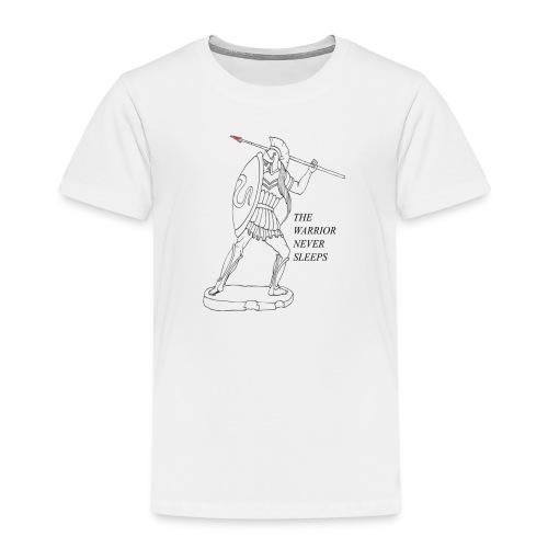 WARRIOR - Maglietta Premium per bambini