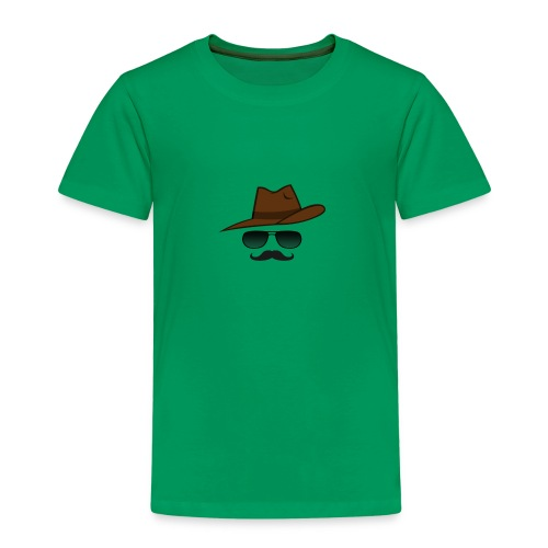Cowboy western mann men - Kinder Premium T-Shirt