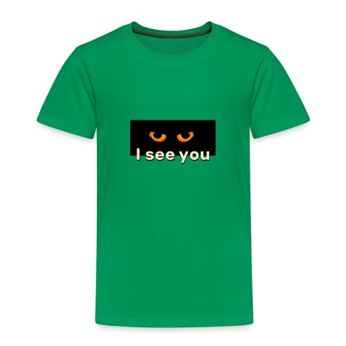 I see you - Koszulka dziecięca Premium