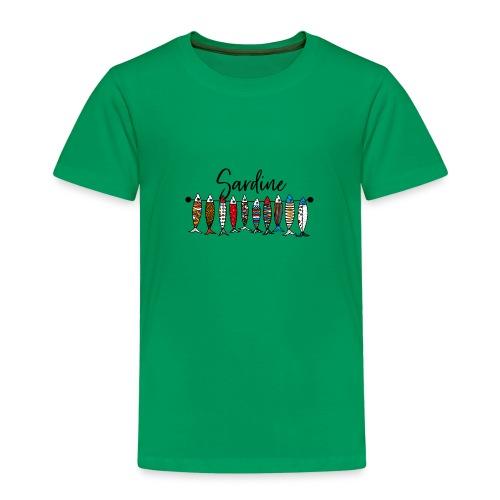Sardine colorate - Maglietta Premium per bambini