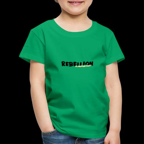 rebel-lion - Kinder Premium T-Shirt
